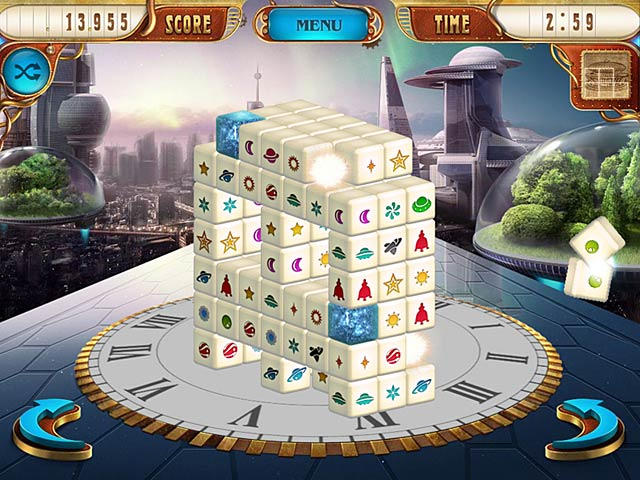 Mahjongg Dimensions Deluxe: Tiles in Time free game download